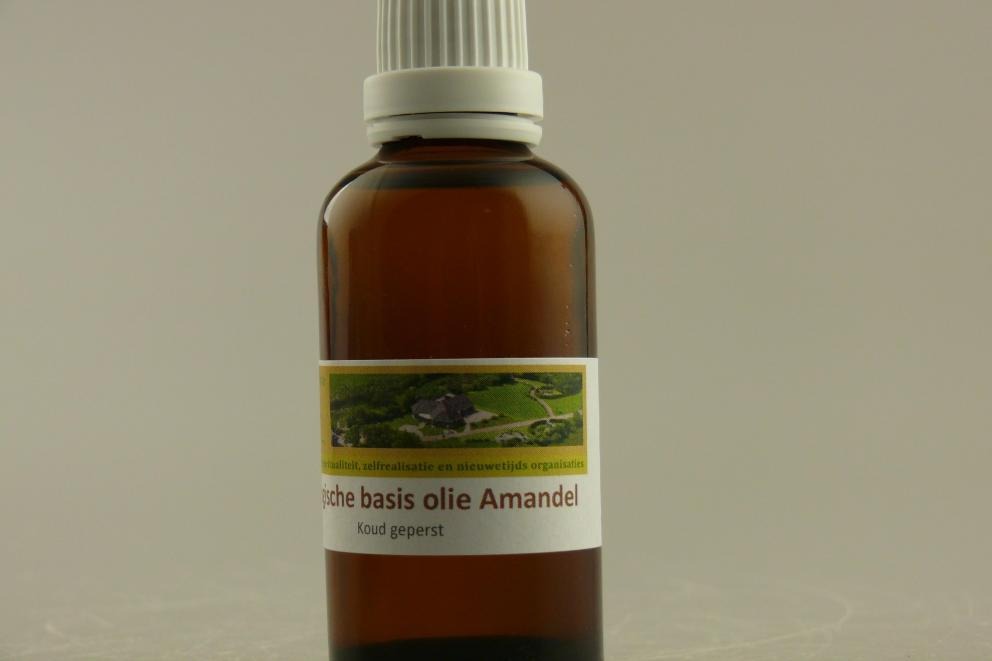 Amandel olie, biologisch - 0,25 liter