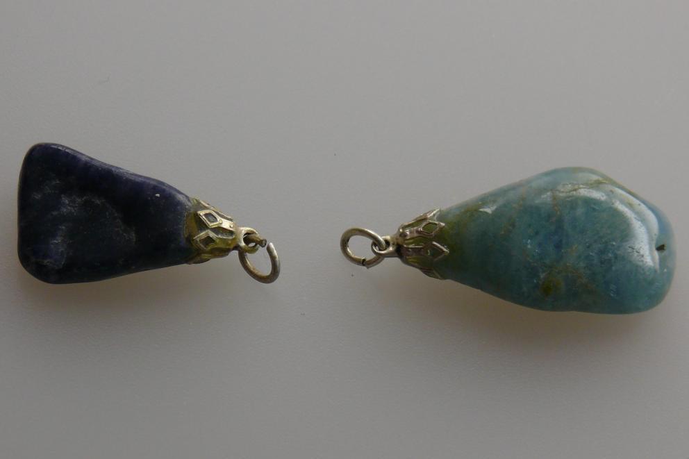 Apatiet hanger - blauw