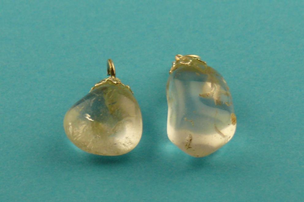 Bergkristal hanger - transparant
