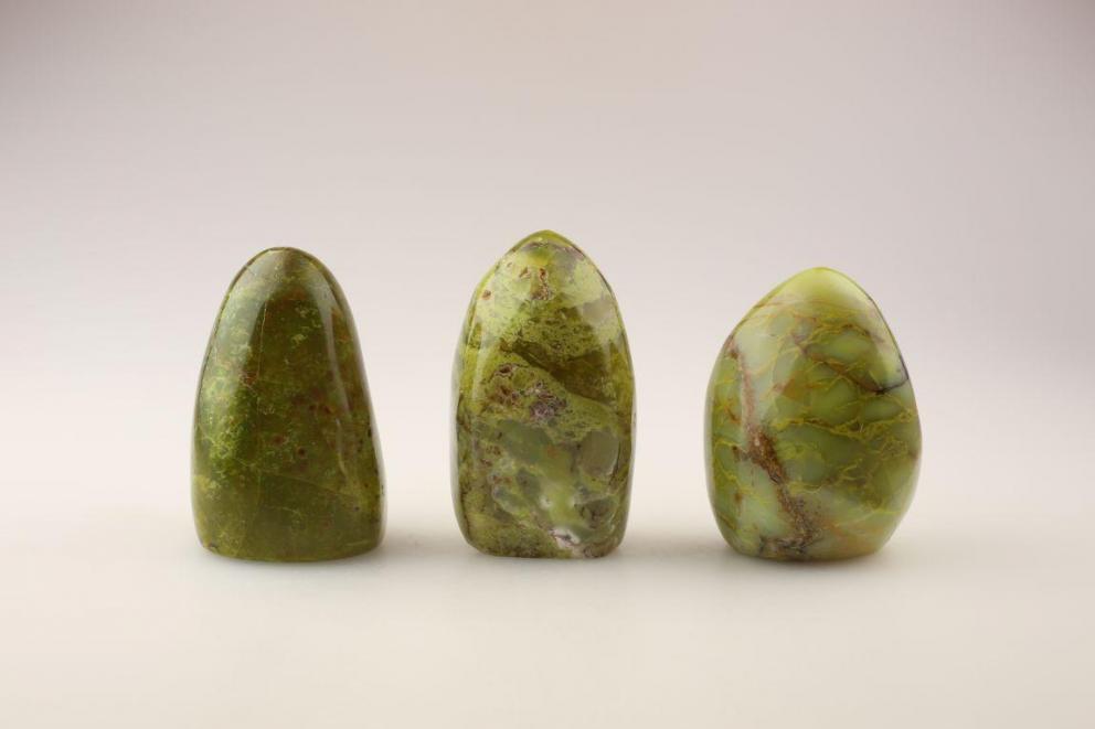 Elohim groene Opaal - Genietend kind van Moeder Aarde