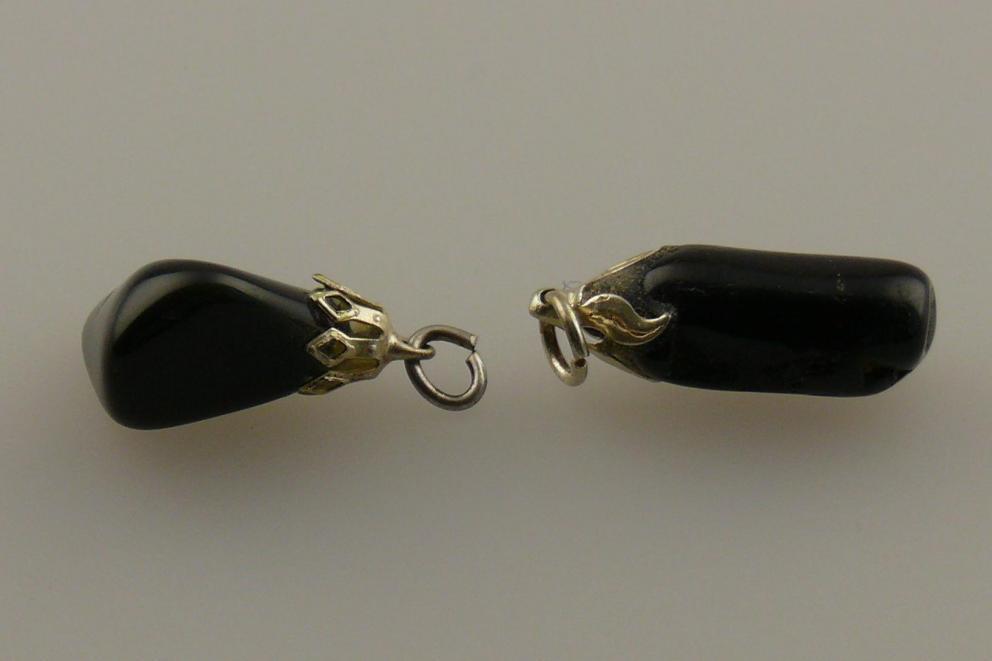 Obsidiaan hanger - Regenboog Obsidiaan