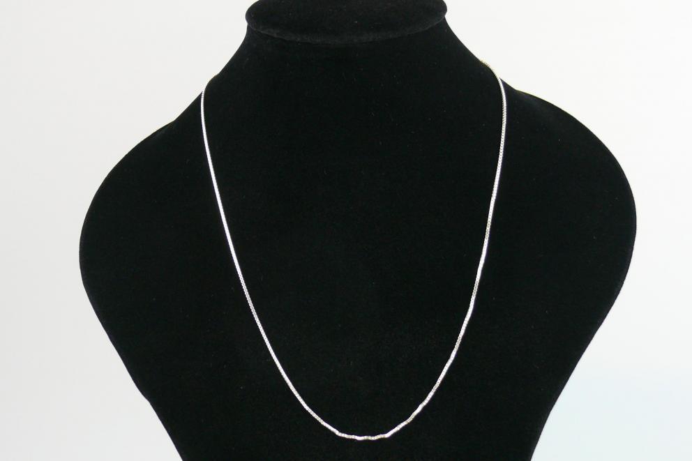 Zilveren ketting - 60 cm