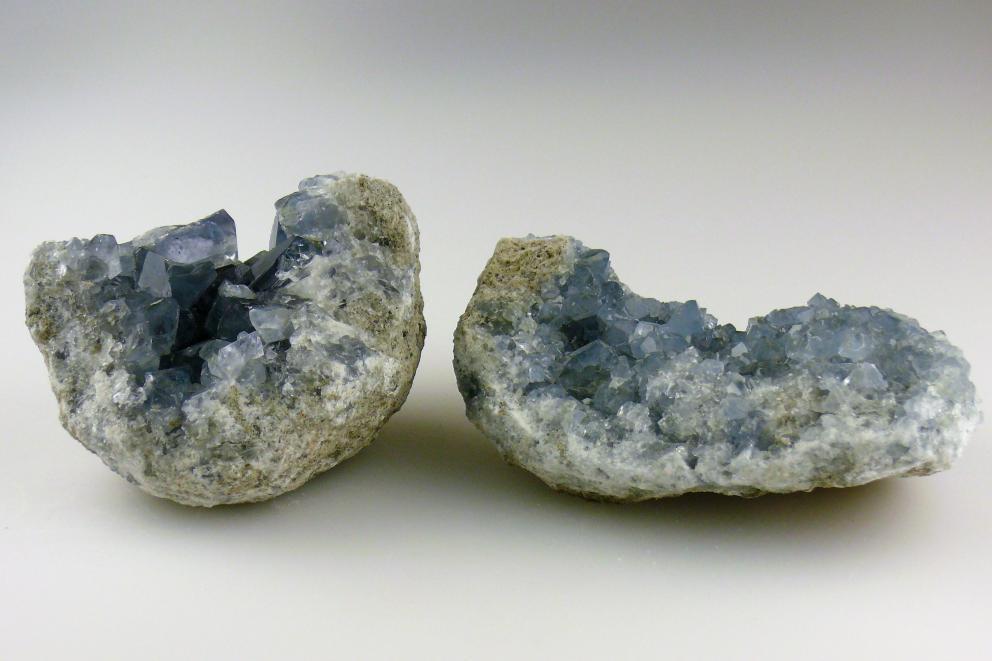 Celestien cluster - Kosmische Blauwe Straal