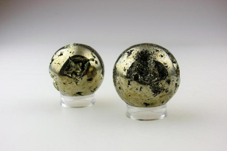 Nieuw binnen: Pyriet bollen