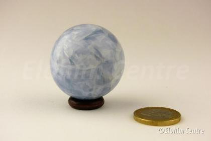 blauwe Calciet bol