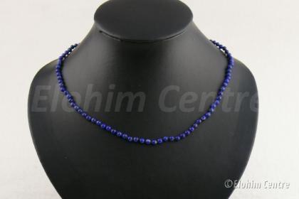 Lapis Lazuli ketting - handgeknoopt