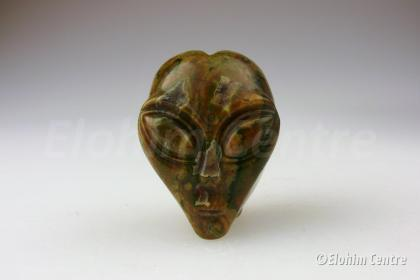 Alien schedel, Jaspis