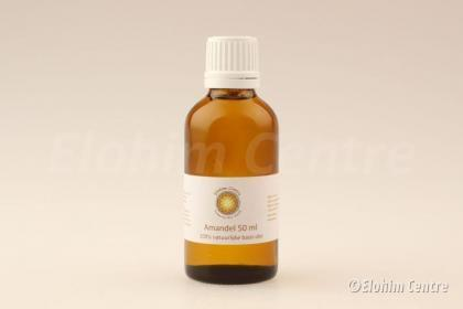 Amandel olie, biologisch - 50 ml