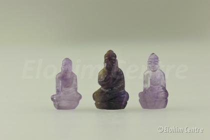 Amethist Boeddha beeldje