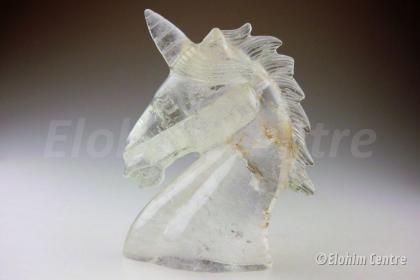 Eenhoorn, Bergkristal