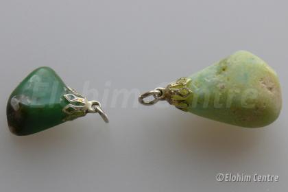 Chrysopraas hanger