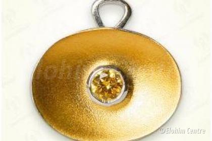 Lichtwesen Elohim zirkonia goud 64