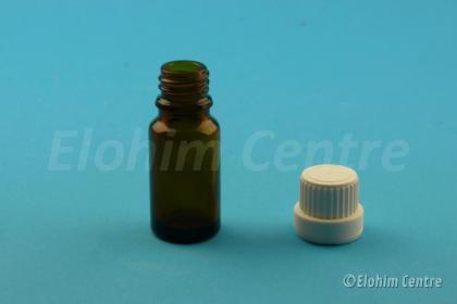 Leeg tinctuurflesje glas 10 ml