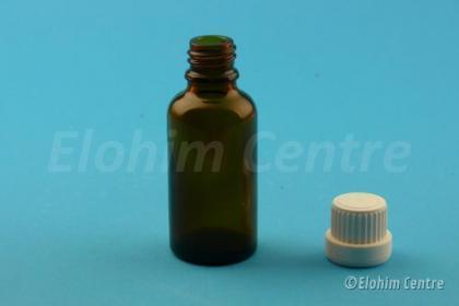 Leeg tinctuurflesje glas 30 ml