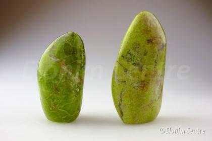 Groene opaal kamerstuk