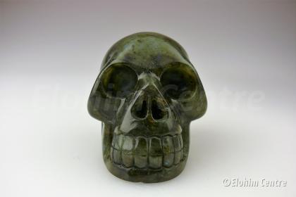 Menselijke schedel, Labradoriet - Ziar