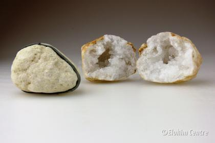Melkkwarts geode