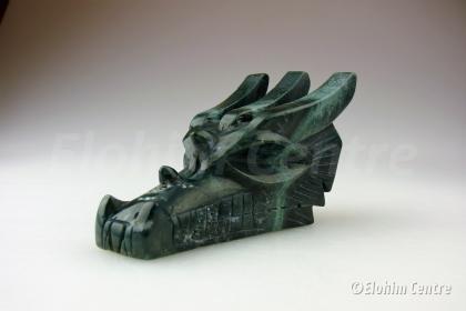 Nefriet Jade edelsteen drakenschedel
