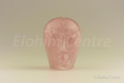 Alien Rozenkwarts schedel XL