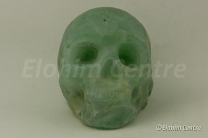 Jade menselijke schedel, human schedel
