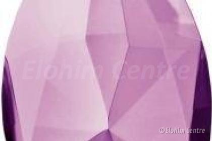 Scheppingsstraal kristal druppel - Magenta straal