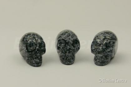 Sneeuwvlok obsidiaan traveler schedel