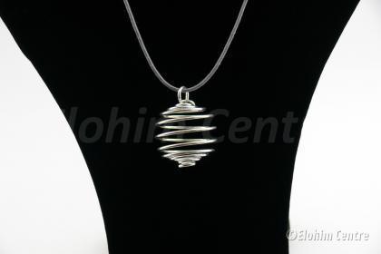 Spiraalhanger zilver - 2 cm